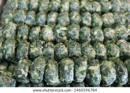 Kuicheai steamed, Steamed dumpling stuffed with garlic chives, garlic chives dim sum. #1460596784