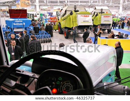 KUIV, UKRAINE - FEBRUARY 13,: 10TH Ukraine international agricultural and horticultural exhibition on Feb 13, 2007 in Kyiv, Ukraine