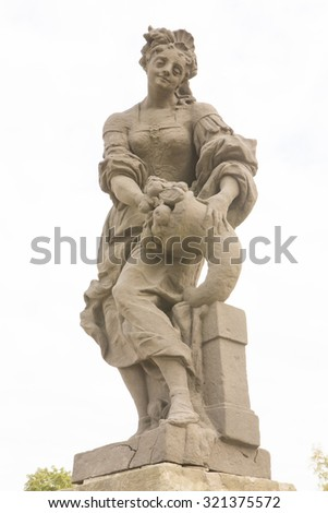 Sculpture of Moses by Michelangelo, 3D… Stock Photo 457870534