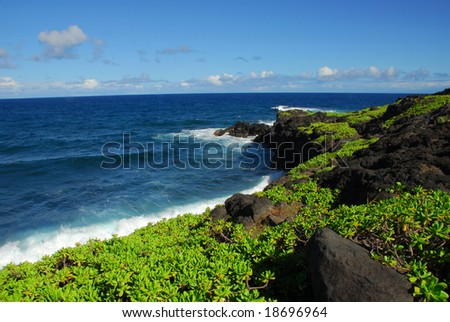 Kukui Bay On The Road To Hana Maui Hawaii