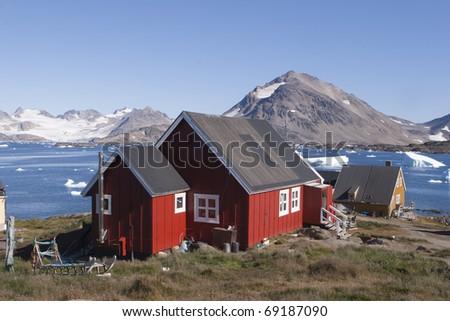 Kulusuk Island in Greenland