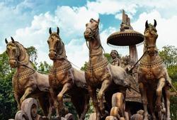 Kurukshetra City in Haryana india March 26 /2016. Kurukshetra Land Of Mahabharata