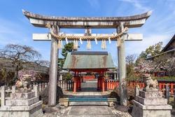 Kurumazaki Shrine is a temple in Kyoto.