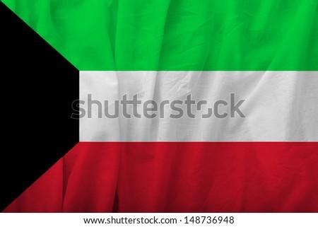 Kuwait Flag - stock photo