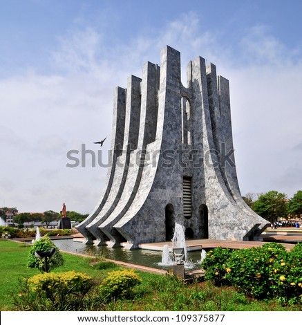 Kwame Nkrumah Memorial Park Kwame Nkrumah Memorial Park KNMP is a National Park in Accra Ghana named after Osagyefo Dr Kwame Nkrumah the founding father of Ghana