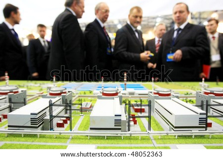 KYIV, UKRAINE - SEP 24: Forum devoted to technologies, equipment and materials for electric-power, coal, oil and gas enterprise Fuel and Energy Complex of Ukraine September 24, 2008 in Kyiv, Ukraine