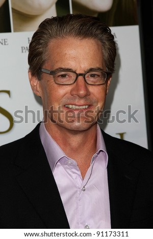 "Kyle Maclachlan at the  ""Fireflies In The Garden"" Film Premiere, Pacific Theaters, Los Angeles, CA 10-12-11"