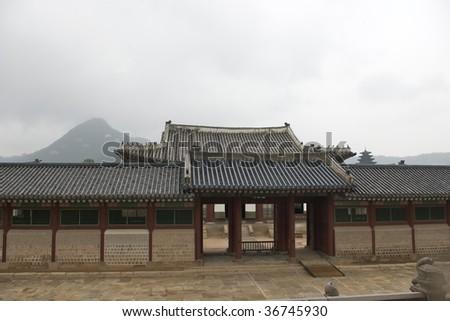 Kyongbokkung Palace, Seoul, Korea