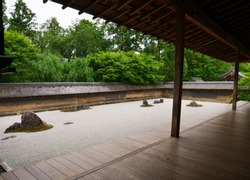 Kyoto, Japan:  Very relaxing and calming Japanese garden.  A very nice place for meditation.