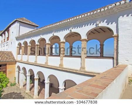 La Alhambra de Granada: Santa Maria church