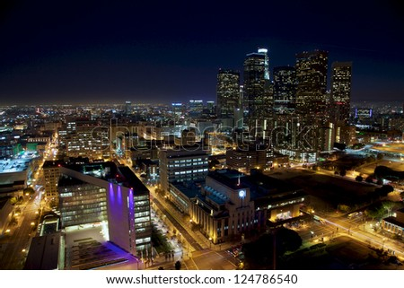 LA at Night Wide