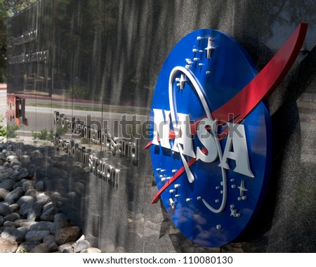 LA CANADA CA AUGUST 13 The entrance to NASA's Jet Propulsion Laboratory in La Canada CA on August 13 2012 NASA recently landed the Mars Science Laboratory on the surface of Mars.