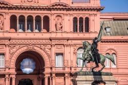 La Casa Rosada Buenos Aires  Argentina. The Pink House - Image