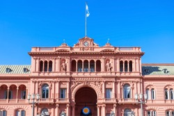 La Casa Rosada or The Pink House is the executive mansion and office of the President of Argentina, located in Buenos Aires, Argentina