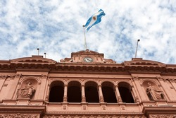 La Casa Rosada (The Pink House) is the executive mansion and office of the President of Argentina, in Buenos Aires