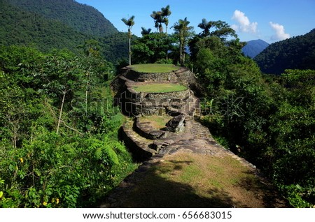 Shutterstock La Ciudad Perdida (The Lost City) in Colombia