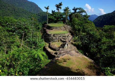 Shutterstock La Ciudad Perdida (The Lost City) in Colombia