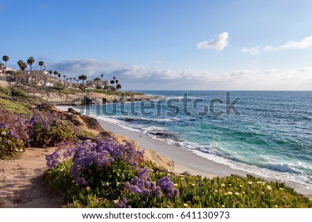 La Jolla at sunset - Southern California, United States of America