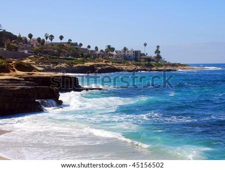 La Jolla cliffs