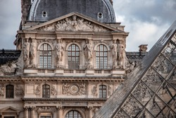 La Louvre museum in Paris