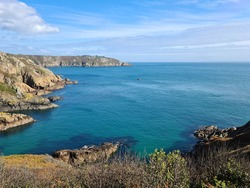 La Moye Point, Le Gouffre, Guernsey Channel Islands