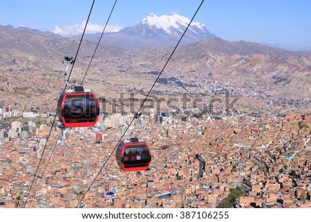 Shutterstock La Paz, Bolivia