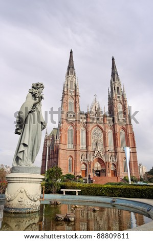 La Plata city Cathedral, Buenos Aires province, Argentina
