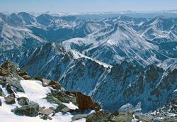 La Plata Peak, Ellingwood Ridge, Rocky Mountains Colorado, USA