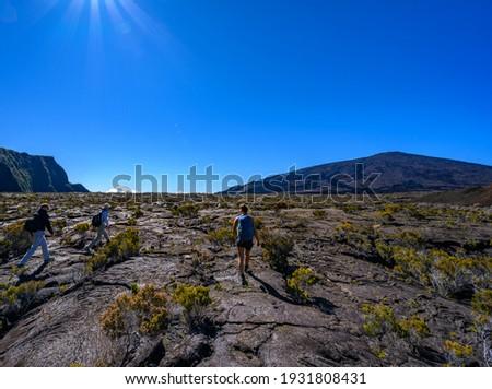 La Reunion Reise war wunderschön Stock foto ©
