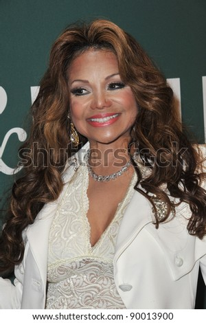 "La Toya Jackson at book signing for her new memoir ""Starting Over"" at Barnes & Noble at The Grove, Los Angeles. June 28, 2011  Los Angeles, CA Picture: Paul Smith / Featureflash"