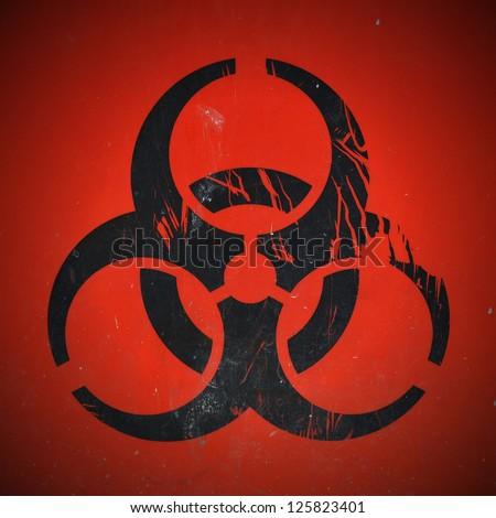 Lab Bio Hazard Warning Symbol