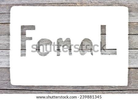Label Female