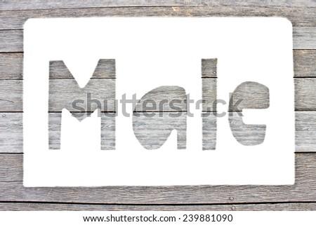 Label Male