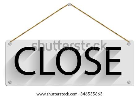 free photos label word close sample close shop avopix com
