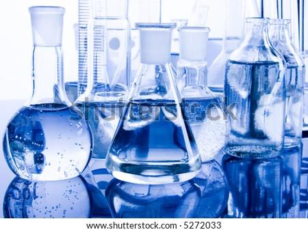 Laboratory - stock photo