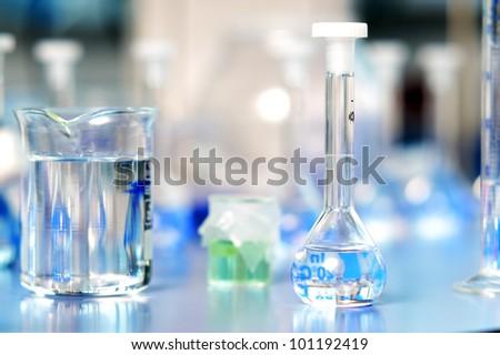 Laboratory flasks