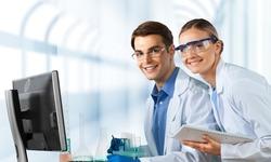 Laboratory, Healthcare And Medicine, Research.