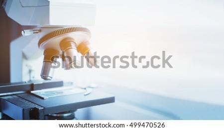 laboratory  microscope for...