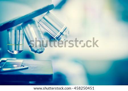 laboratory microscope....