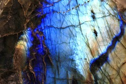 labradorite mineral as very nice natural background
