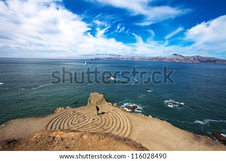 Labyrinth by the San Francisco Bay