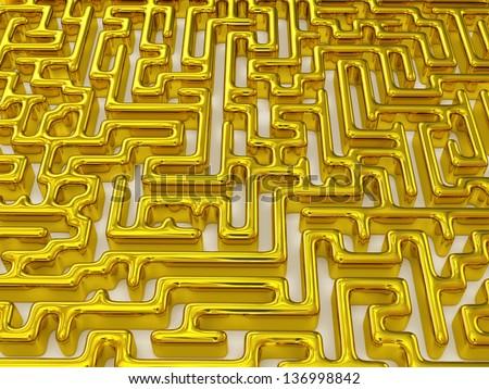 Labyrinth. 3d