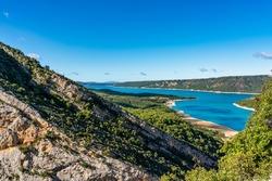 Lac de Sainte-Croix, Gorges du Verdon, Verdon Gorge Provence-Alpes-Cote d'Azur, Provence, France, Europe