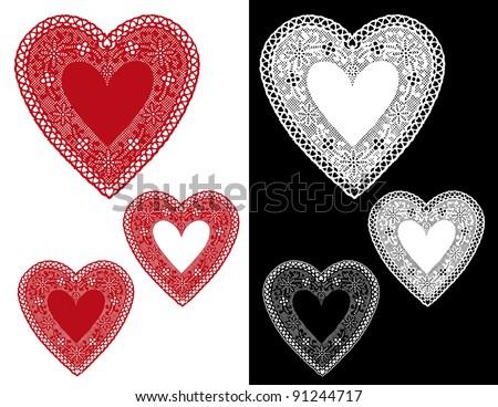 Yoke & Lace Cardi Knitting Pattern | Red Heart