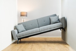 Lack Of Space Interior Design Mistake. Sofa Furniture Does Not Fit