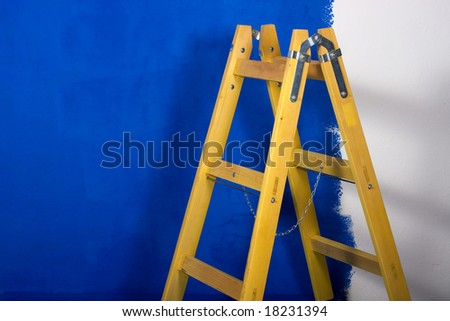 Ladder - stock photo