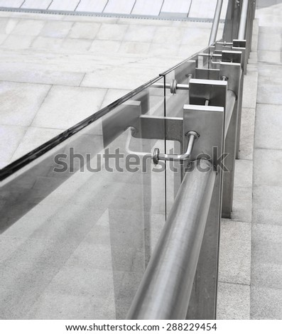 ladder in the modern building