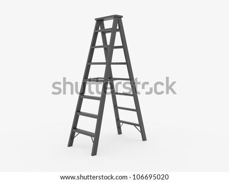 Ladder on white background #106695020