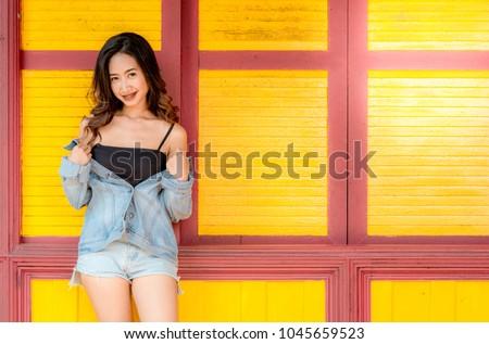 Lady Asian teen,Asian teen,Asian Teen With Bears Fashion