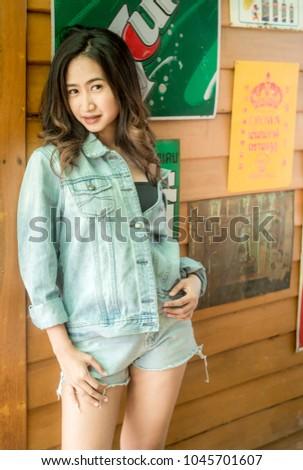 Lady Asian teen,Asian teen,Asian Teen With Bears Fashion #1045701607